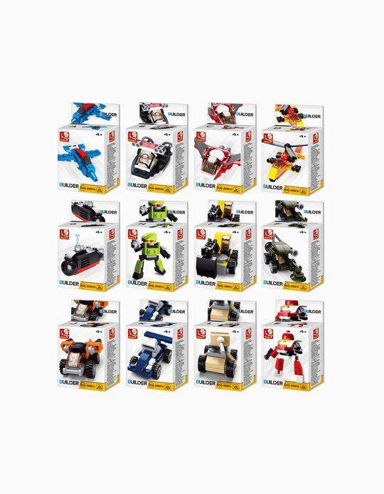 Brinquedo Builder Machine Sluban Sortidos