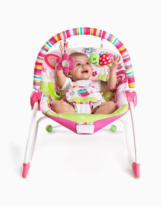 Cadeira De Repouso Bright Starts Raspberry Garden