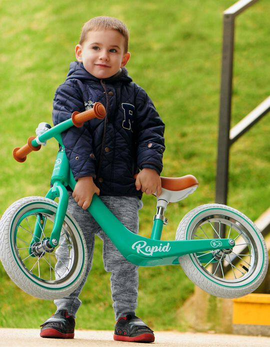 Balance Bike, Rapid by Kinderkraft, Midnight Green