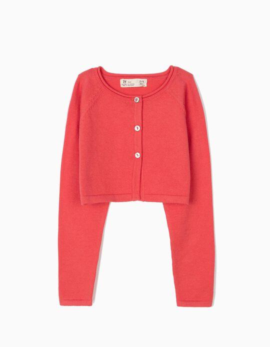 Bolero Jacket for Girls, Pink