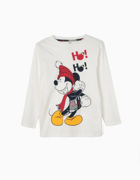 T-shirt Manga Comprida Mickey Christmas