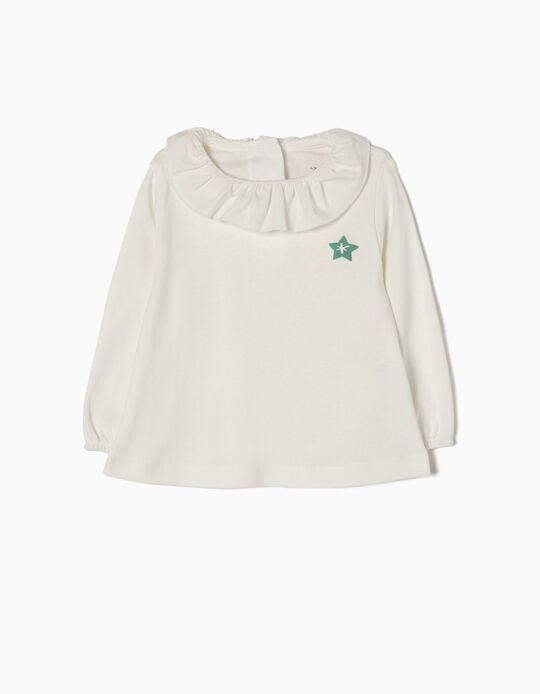 Camiseta estrellita de algodón orgánico