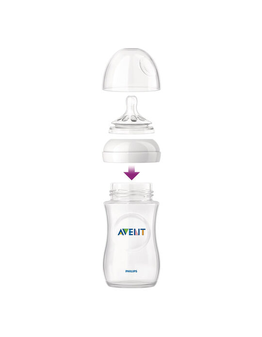 Feeding Bottle Natural 260ml 0+ Philips/Avent