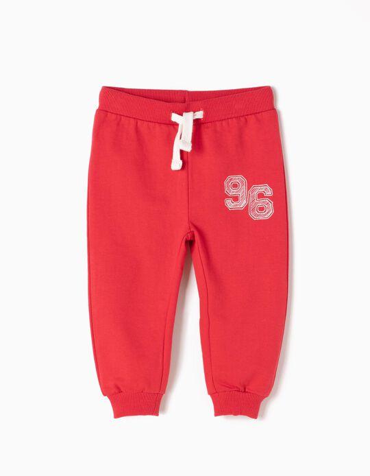 Pantalón de Chándal 96 Rojo