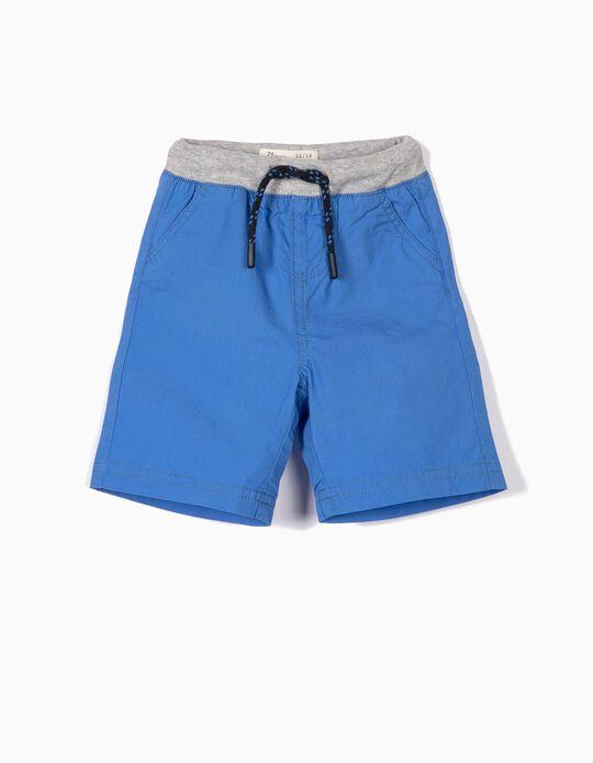Short para Bebé Niño 'Ripstop', Azul