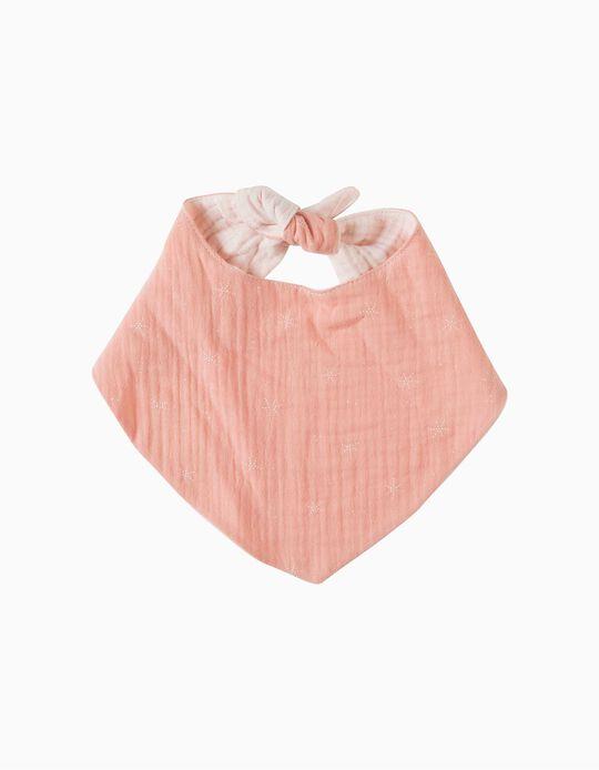 Bandana Musselina Stars Pink