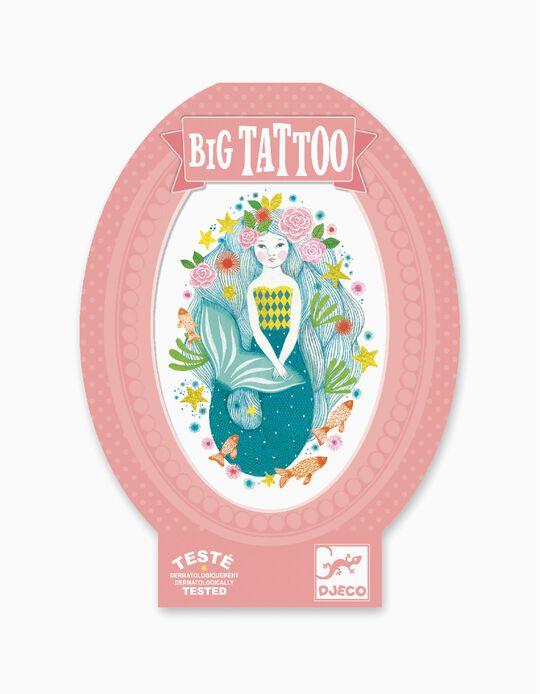 Big Tattoo Glitter Djeco Aqua Blue 6A+