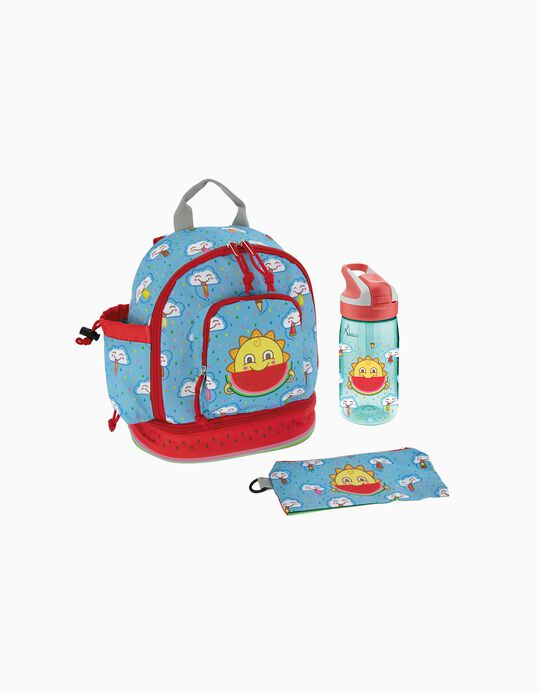 Backpack & Bottle by LAKEN