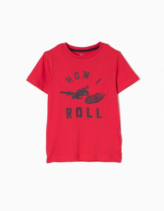 Camiseta How I Roll