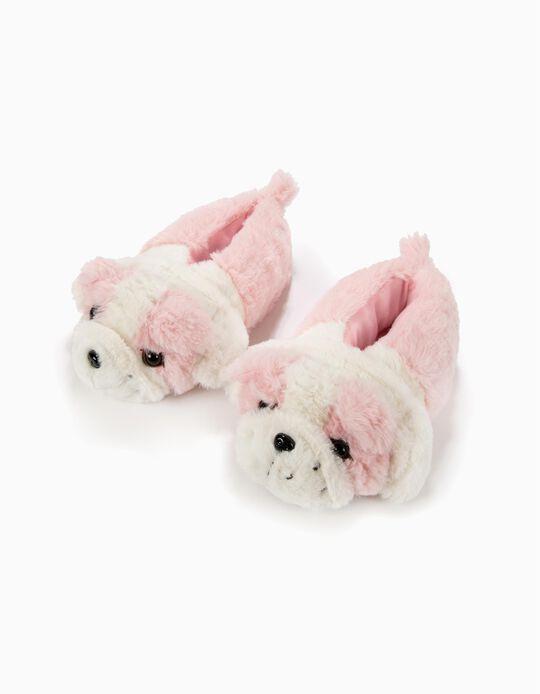 Zapatillas de Casa Fantasía Dog Rosa