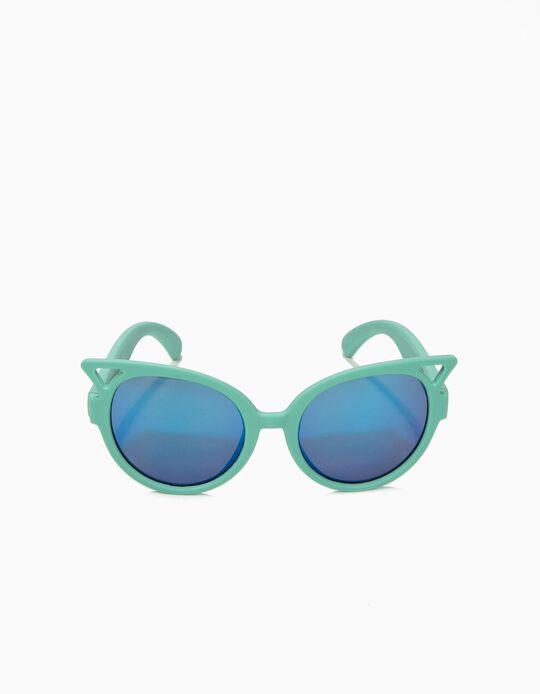 Gafas de Sol para Niña, Verde y Azul