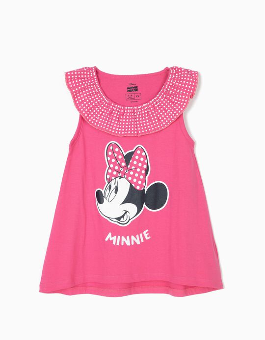 Top para Niña 'Minnie', Rosa