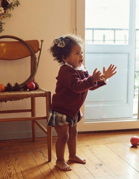 Calções Xadrez para Bebé Menina  'B & S', Multicolor