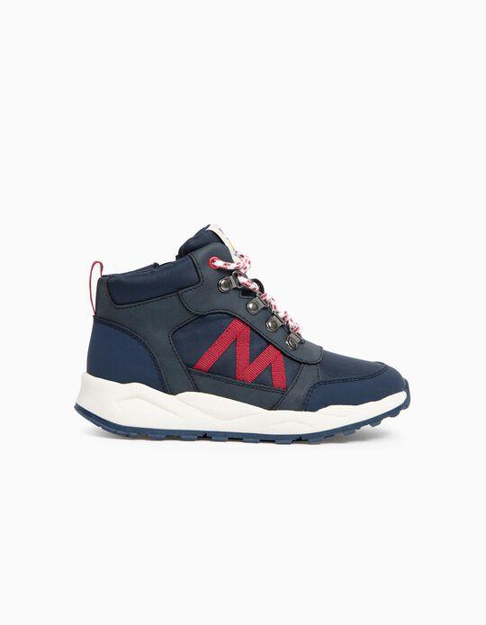 Mountain Boots for Boys, Dark Blue