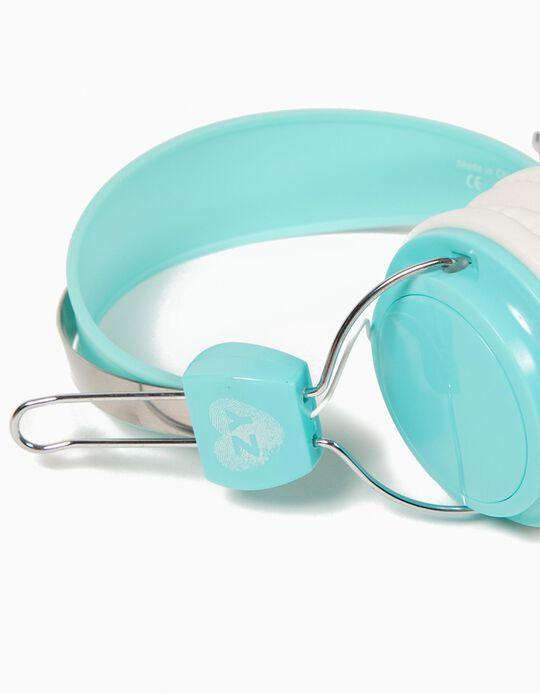 Auriculares Azul Turquesa
