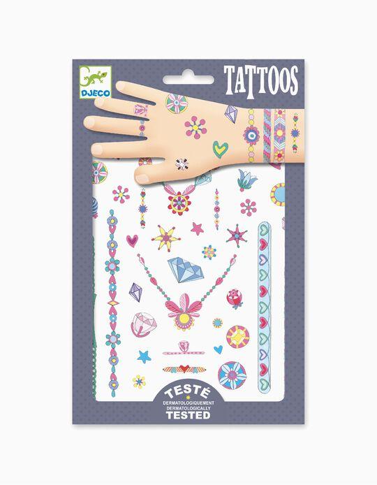 Tattoos Neon Jenni'S Jewels Djeco 3A+