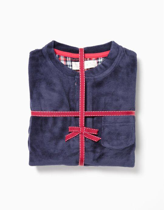 Pijama de Dos Materias para Niño