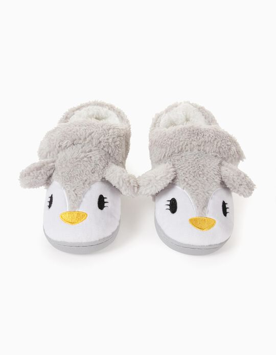 Zapatillas de Casa para Niña 'Cute Nose', Gris