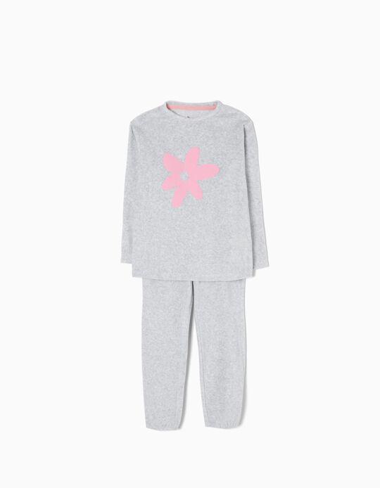 Pijama de Terciopelo Flower