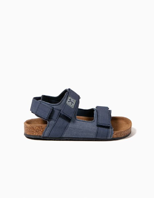 Sandalias Azules ZY