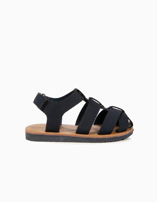 Sandálias para Bebé Menino, Azul
