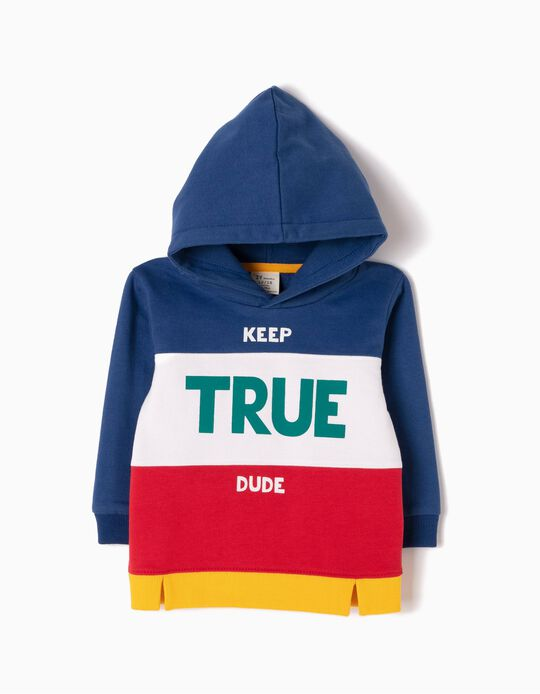 Sudadera con Capucha Keep True