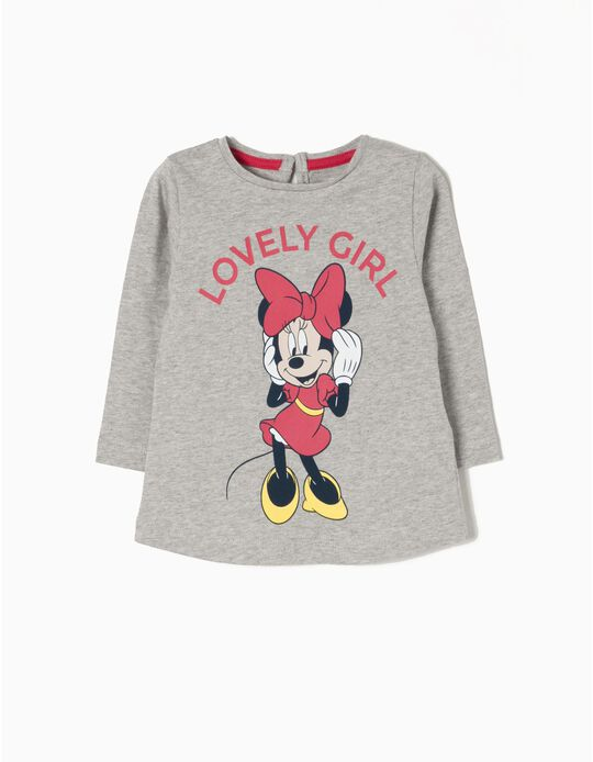 Camiseta de Manga Larga Lovely Minnie