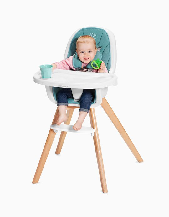 High Chair, Tixi by Kinderkraft, Turquoise