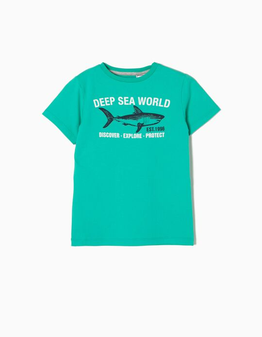 Camiseta Estampada Sea World