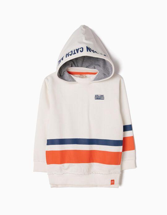 Sweatshirt Estampada Attitude
