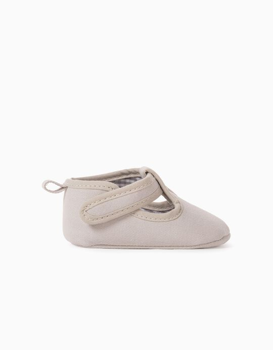 Shoes for Newborn Baby Boys, Beige