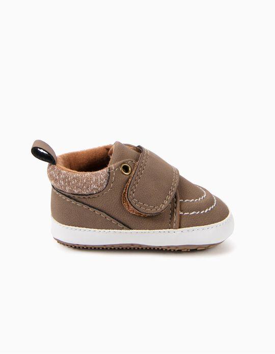Zapatos Pre-Walker Camel
