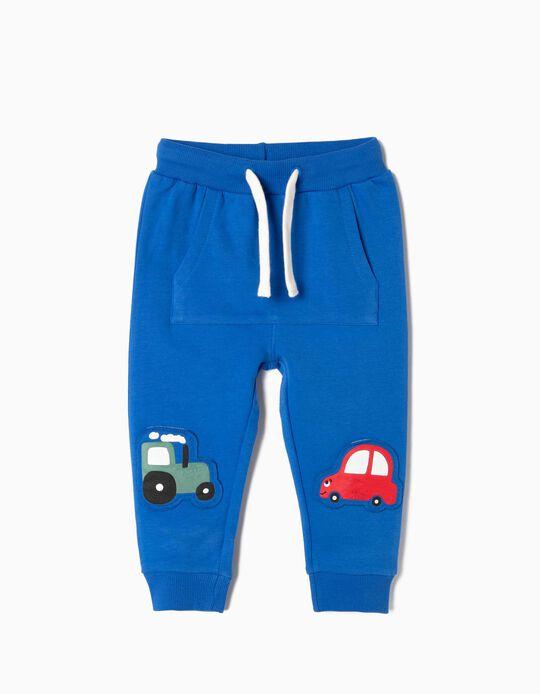Pantalón de Chándal para Bebé Niño 'Cars', Azul