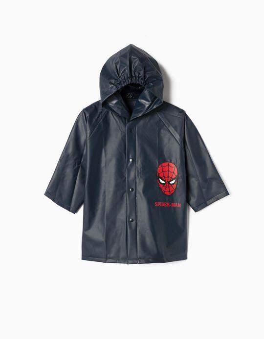 Capa de Lluvia para Niño 'Spider-Man', Azul Oscuro