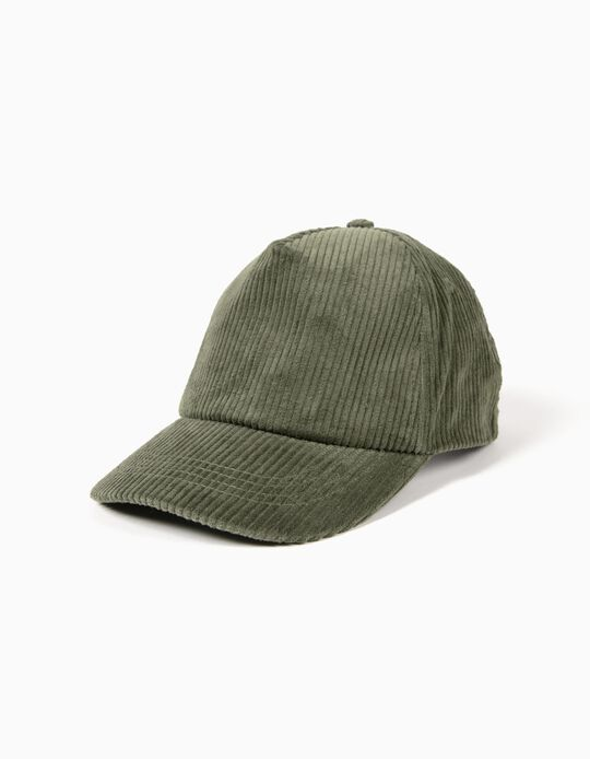 Gorra de Pana Verde