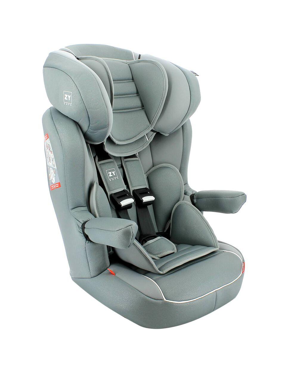 Cadeira Auto Gr 1/2/3 Primecare Prestige Zy Safe Grey