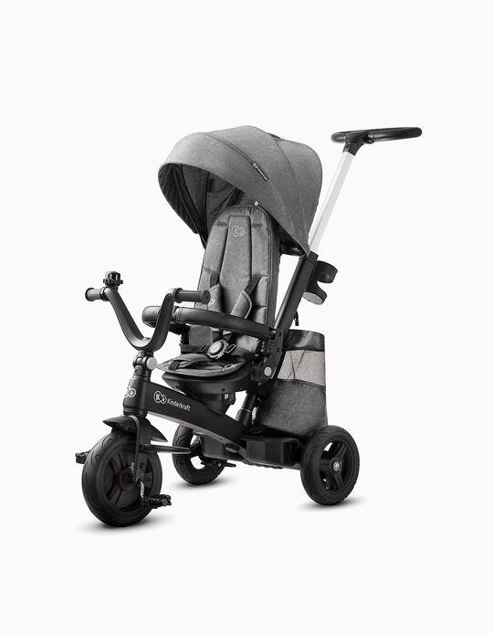 Easytwist Tricycle by Kinderkraft, Platinum Grey