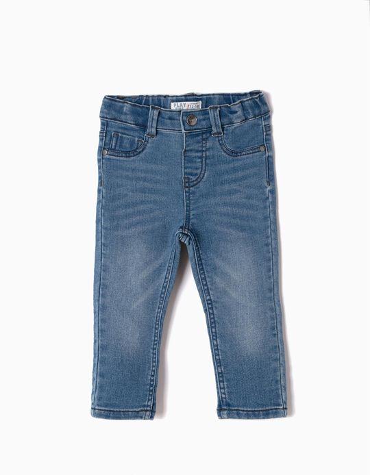 Pantalón Vaquero Claro Slim Fit