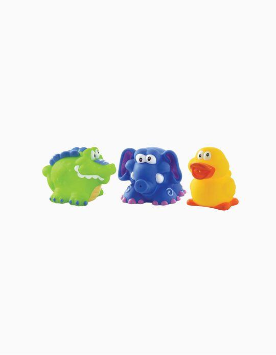 Brinquedos De Banho Nuby 6M+ 3Un.
