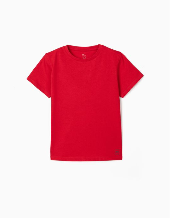 T-shirt for Boys, Red