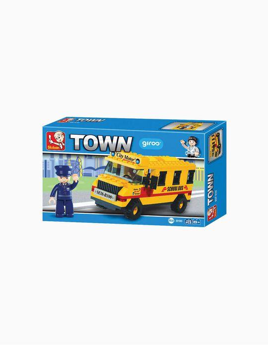 Schoolbus Sluban, 105 pcs