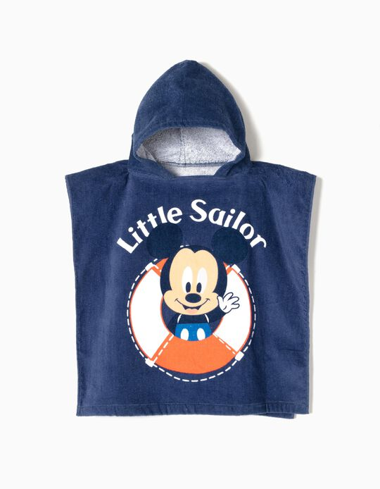 Poncho de Praia Little Sailor Mickey