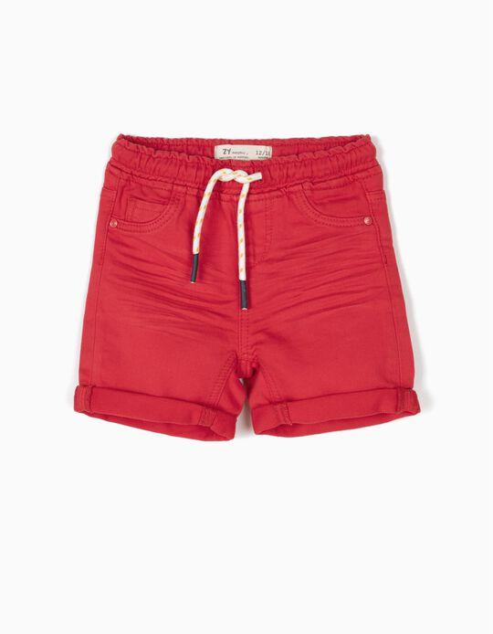 Short Denim Rojo