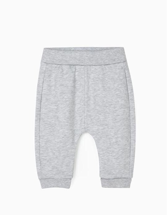 Pantalón de Chándal para Recién Nacido, Gris