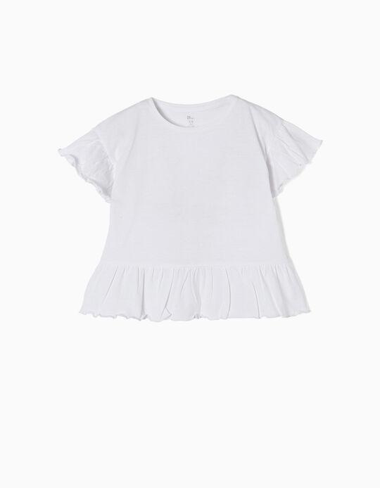 T-shirt Folhos