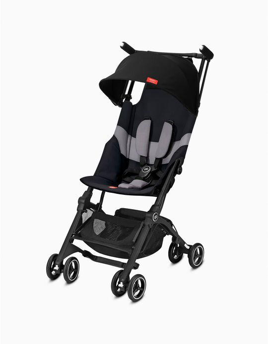 Pockit+ All Terrain Pushchair by Gb, Velvet Black