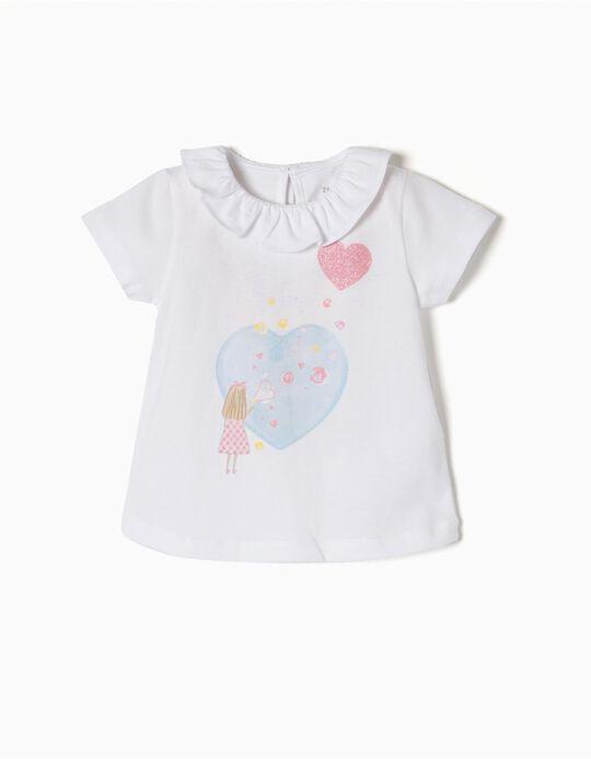 Camiseta de Purpurina Heart