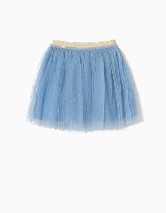 Falda de Tul Azul Edición Especial