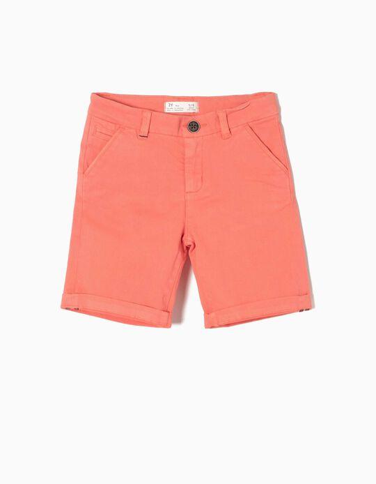 Short Chino Orange