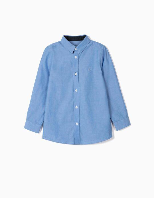 Shirt for Baby Boys, 'B&S', Blue